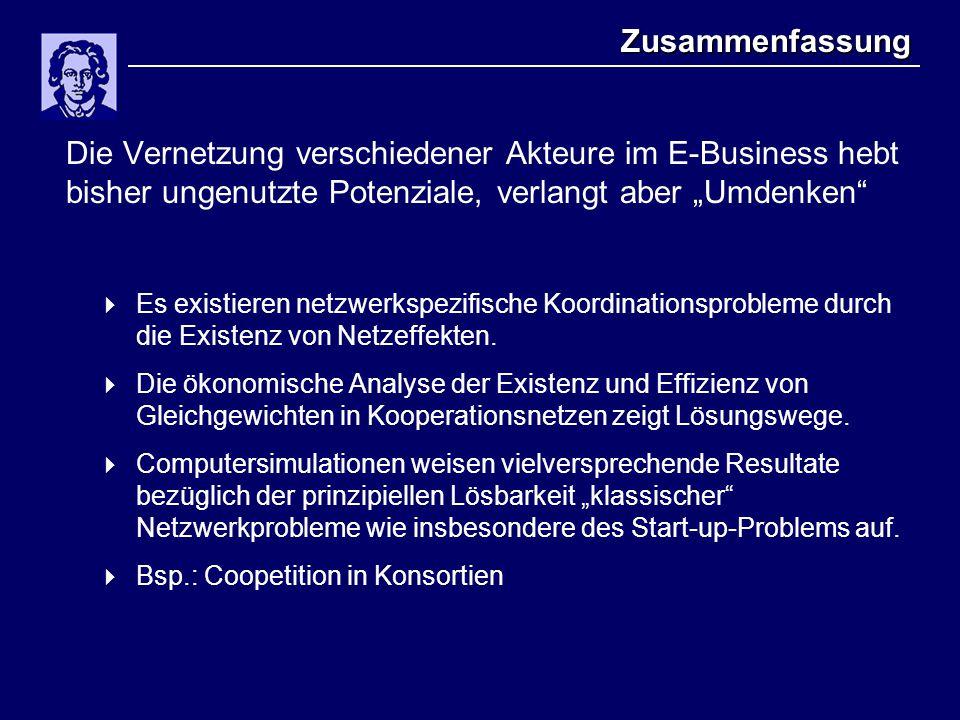 NetzeffekteDas KoordinationsproblemCoopetition