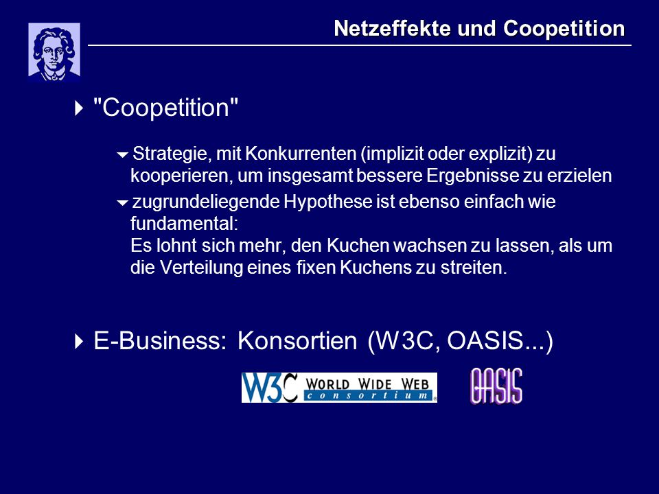 Netzeffekte und Coopetition 