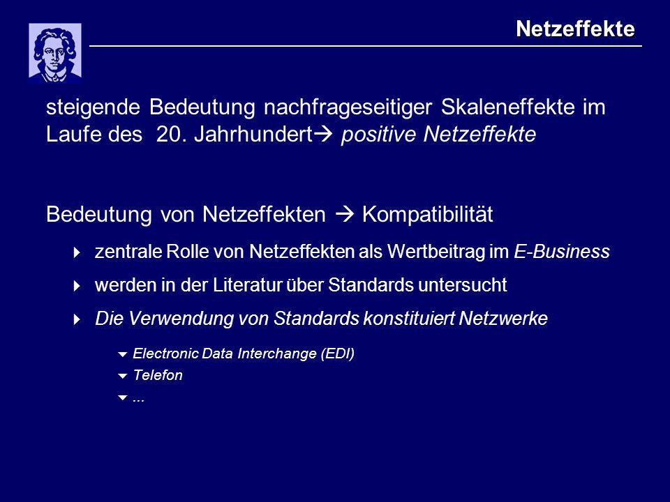 Ökonomische Analyse  Effizienz von und in Netzwerken als aggregierte Größe (zentraler Ansatz, z.