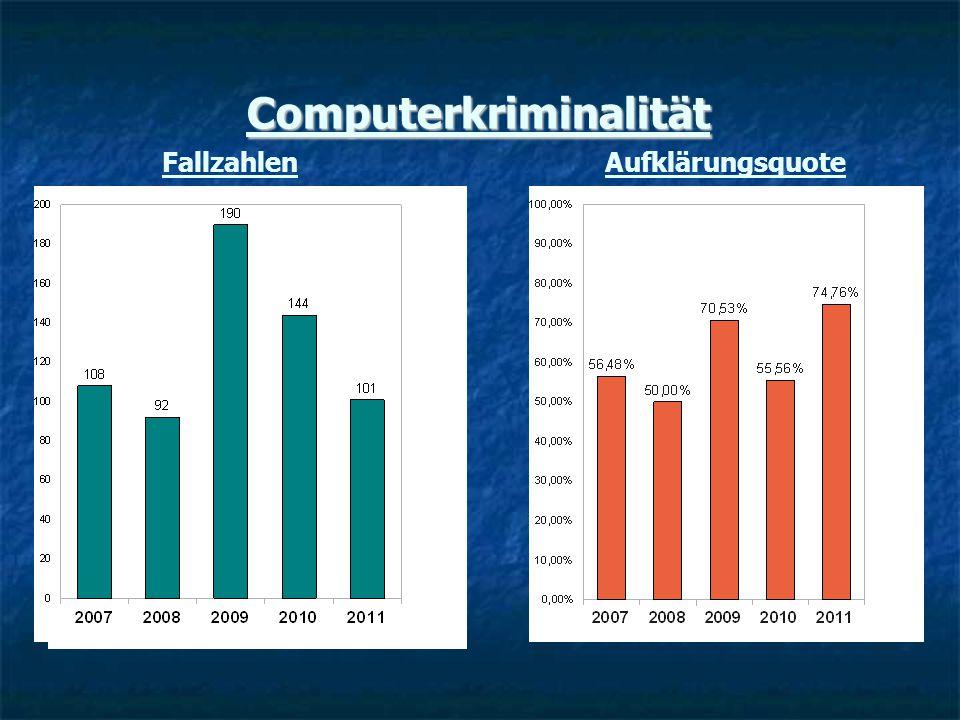 Computerkriminalität FallzahlenAufklärungsquote