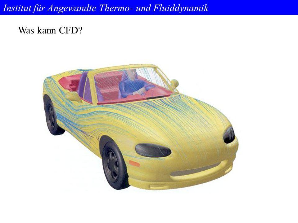 Institut für Angewandte Thermo- und Fluiddynamik Was kann CFD?