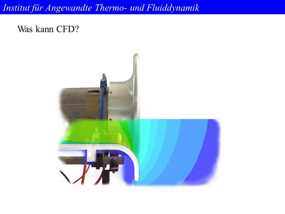 Institut für Angewandte Thermo- und Fluiddynamik Funktionsweise Modellerstellung Vergitterung Randbedingungen festlegen Berechnung und Auswertung