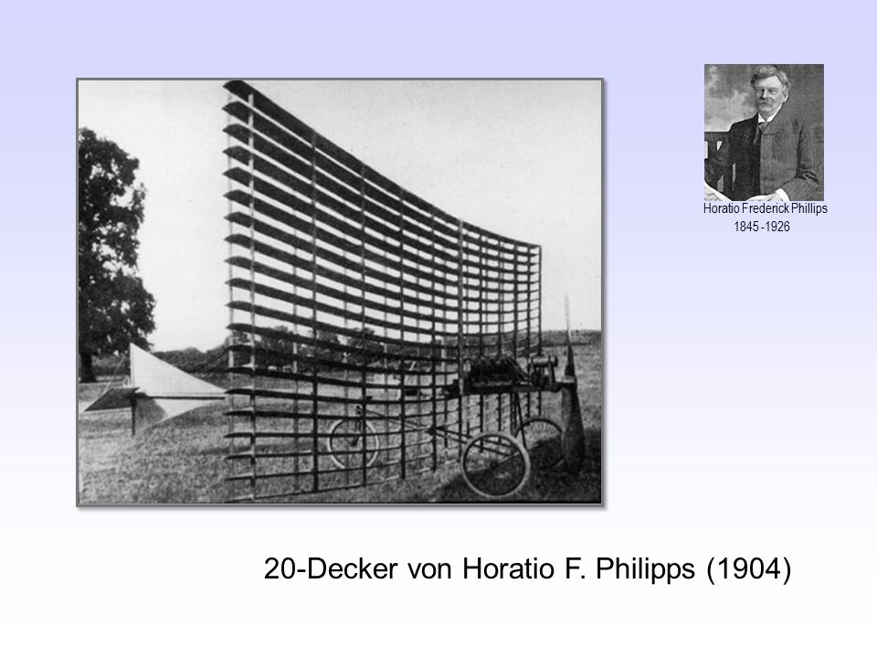 20-Decker von Horatio F. Philipps (1904) Horatio Frederick Phillips 1845 -1926
