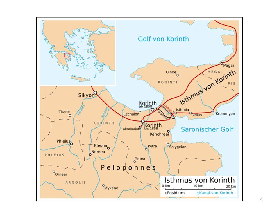 Vorgeschichte Start der Gemeindegründung: Frühling 50 n.Chr.