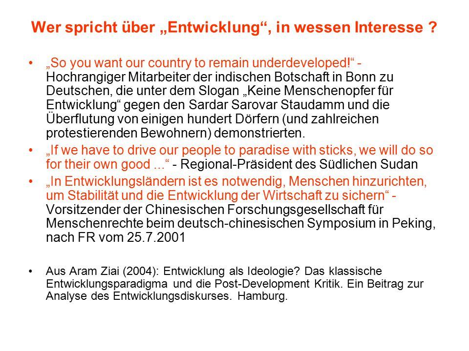 Begriffe Entwickelte – unterentwickelte Länder Dritte Welt Peripherie – Metropole OECD-Länder, G8-Länder, G77-Länder globaler Süden – globaler Norden