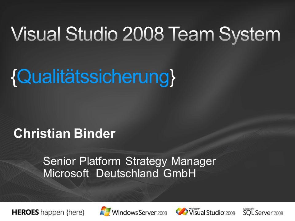 Vielen Dank! Christian Binder cbinder@microsoft.com http://blogs.msdn.com/cbinder