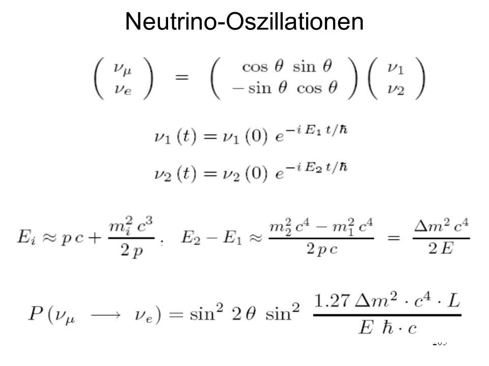 205 Neutrino-Oszillationen