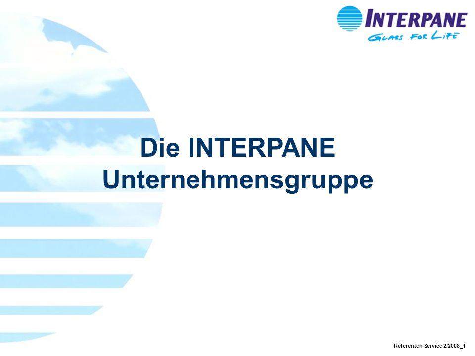Referenten Service 2/2008_1 Die INTERPANE Unternehmensgruppe