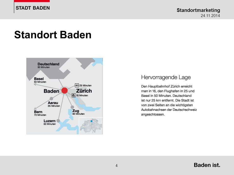 Standortmarketing 24.11.2014 5 Statements