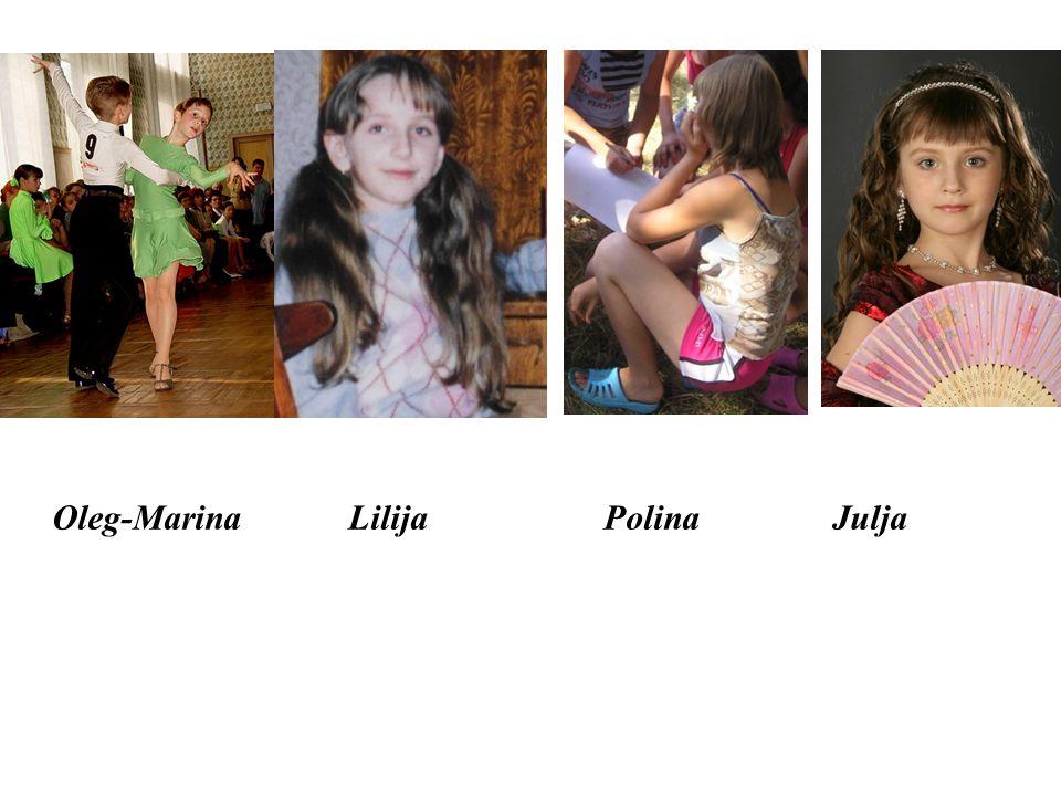 Oleg-Marina Lilija Polina Julja