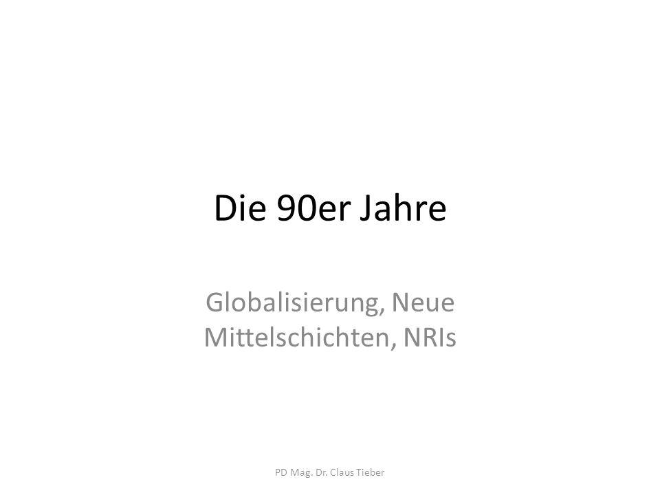 """Indische Mittelschichten Alte Mittelklasse Neue Mittelklasse """"emerging petite bourgeoisie PD Mag."""