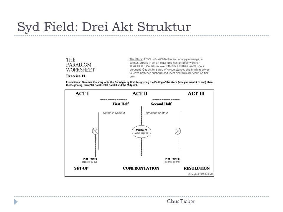 Syd Field: Drei Akt Struktur Claus Tieber