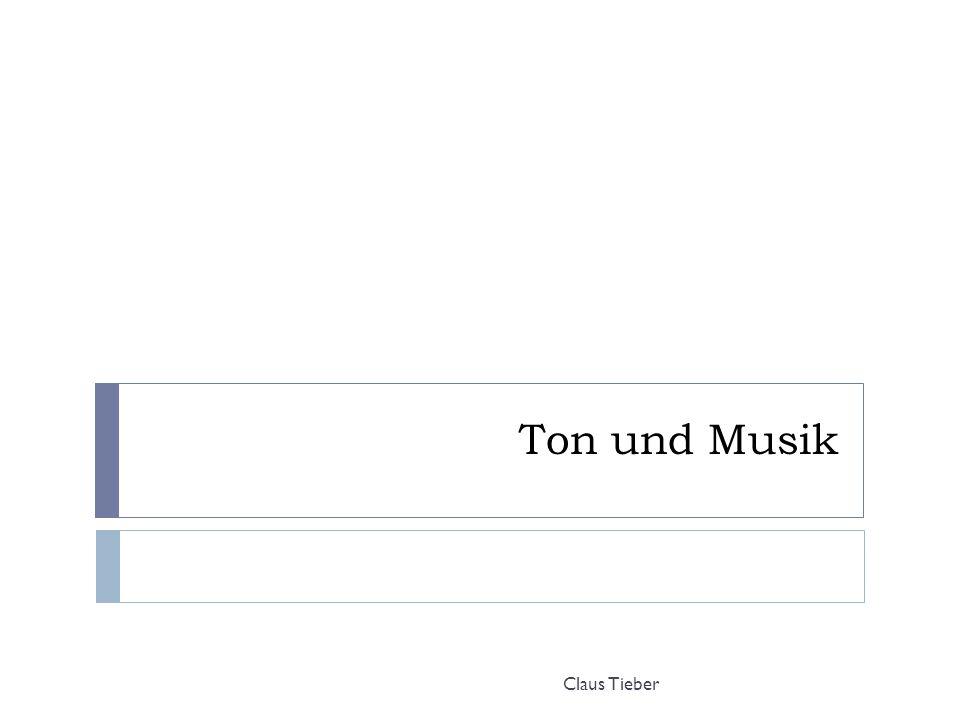 Ton und Musik Claus Tieber