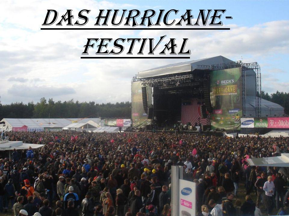 """Das Festival:  Das Hurricane-Festival findet seit 1997 auf der Motorrad-rennbahn """"Eichenring bei Schee ß el in Niedersachsen statt und feiert damit in diesem Jahr seinen zehnten Geburtstag."""