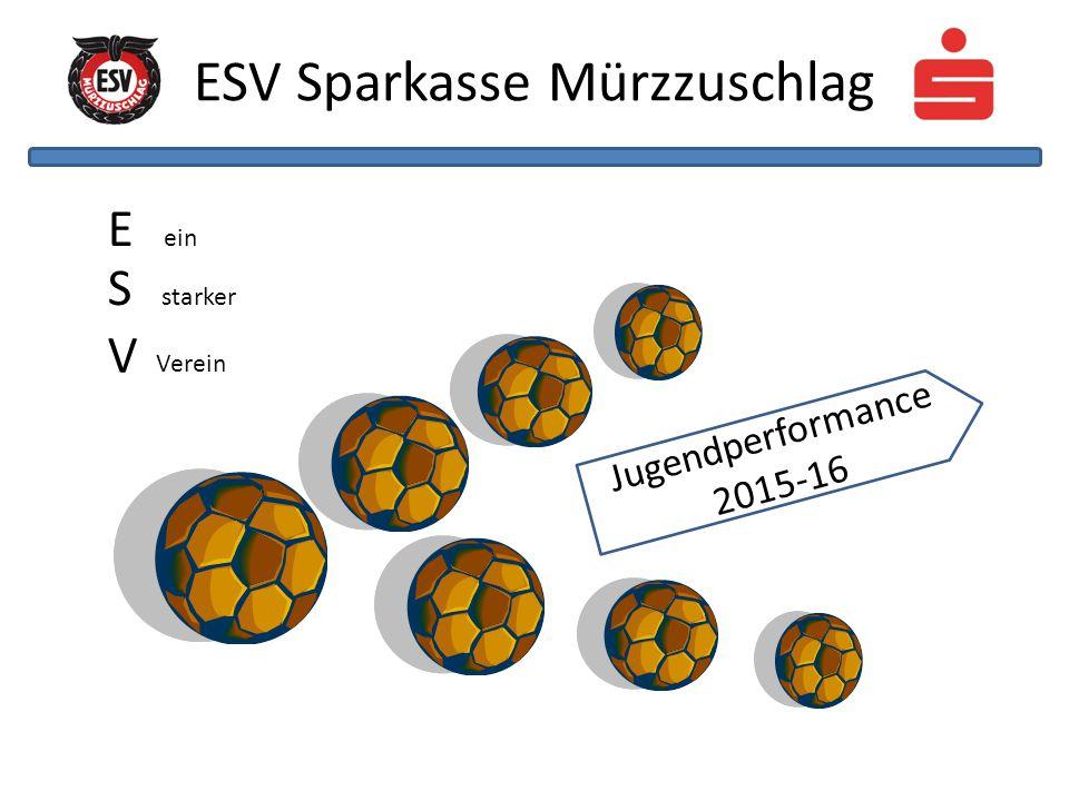 ESV Sparkasse Mürzzuschlag E ein S starker V Verein Jugendperformance 2015-16