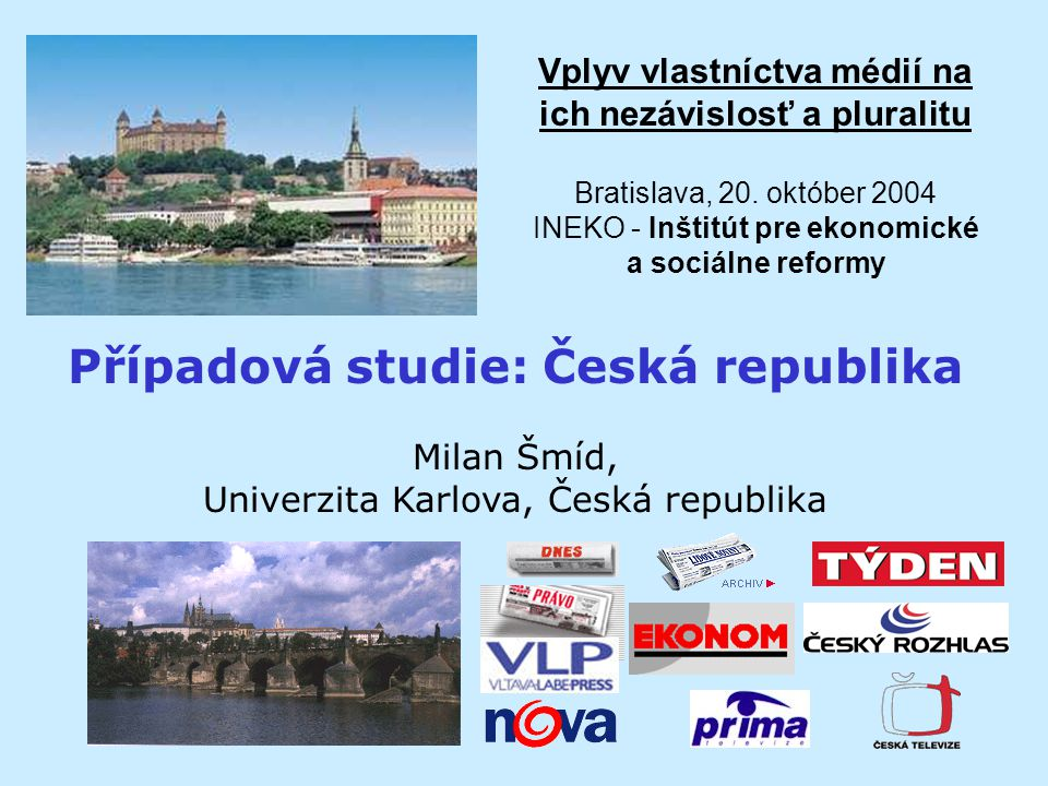 Vplyv vlastníctva médií na ich nezávislosť a pluralitu Bratislava, 20.