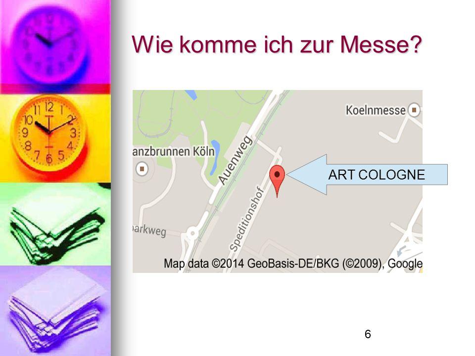 7 Würdet ihr das nächste Mal Art Cologne besuchen?