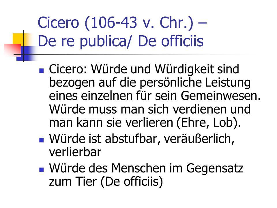 Cicero (106-43 v.