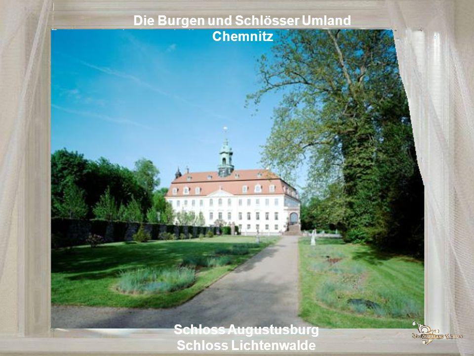 Die Burgen der Zschopau Burg Scharfenstein Burg Kriebstein