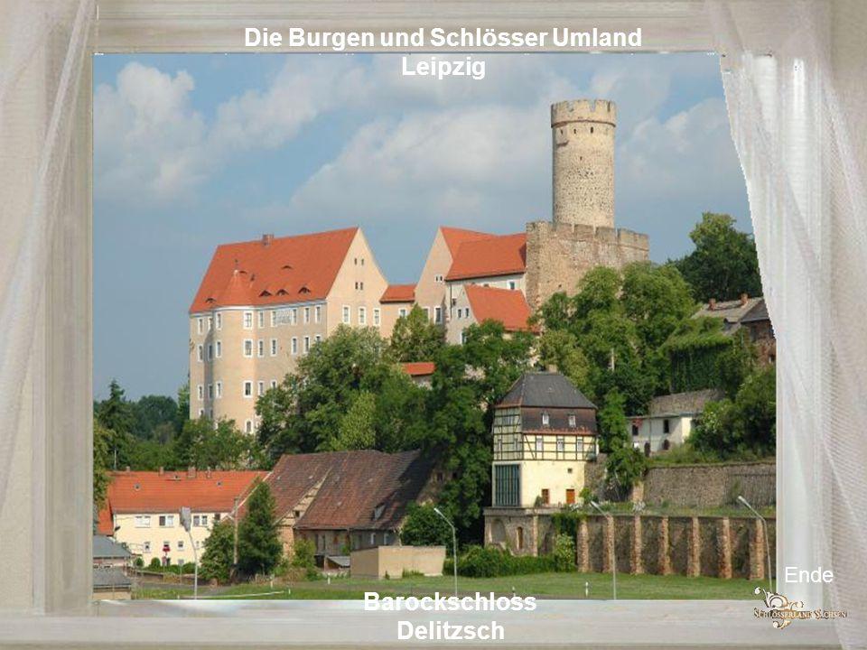 Die Burgen und Schlösser Umland Chemnitz Schloss Augustusburg Schloss Lichtenwalde