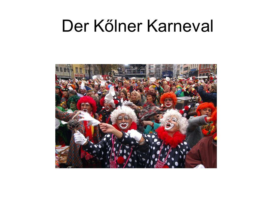 Der Kőlner Karneval