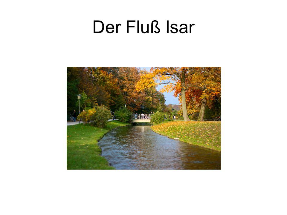 Der Fluß Isar