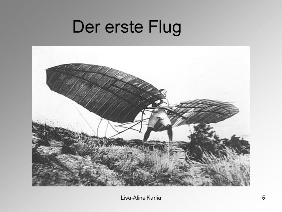 Lisa-Aline Kania5 Der erste Flug
