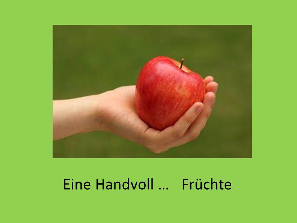 Eine Handvoll …Früchte