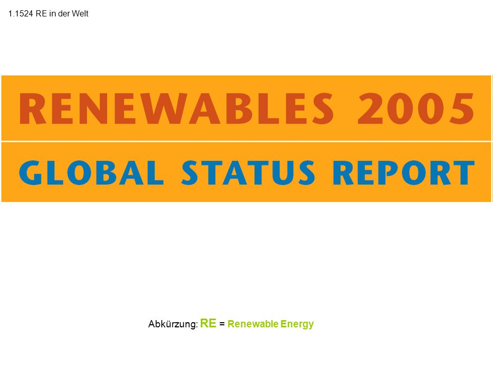 Quelle: Zum Original: http://www.ren21.net/globalstatusreport/RE2005_Global_Status_Report.pdf
