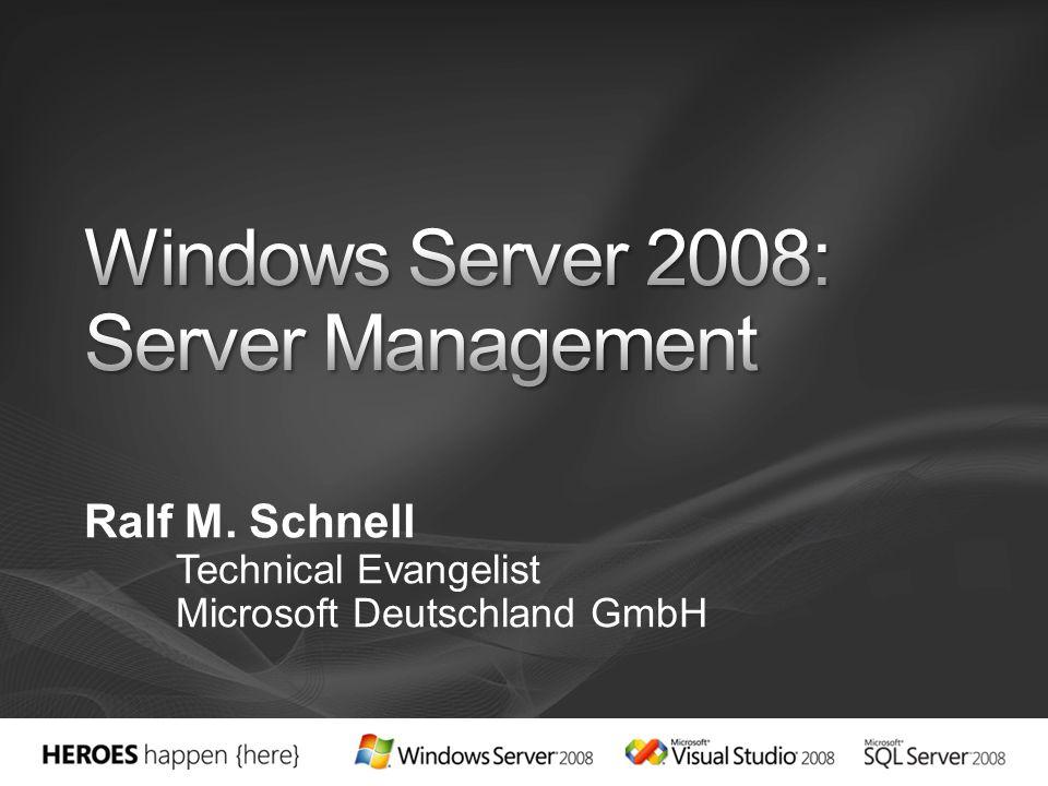Eine Liste der Services mit Namen 'Server*'.Der Server-Service wird gestoppt.