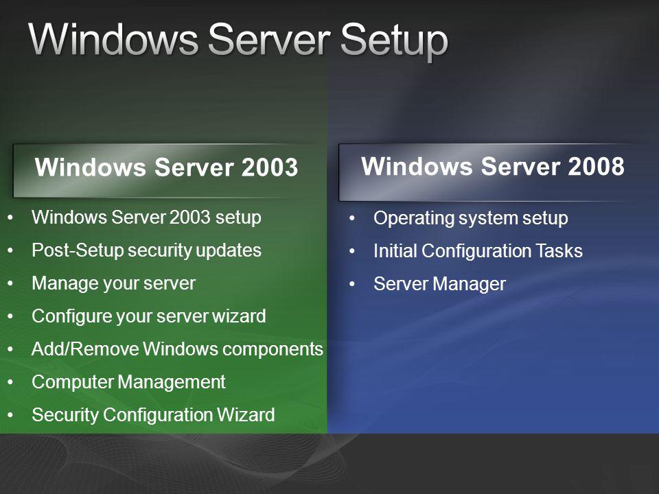 Server Deployment: Mi., 11:00 Hochverfügbarkeit: Mi., 15:30 Kernel-Verbesserungen: Do., 09:15 Server-Chalk Talk: Do., 13:45 File Services: D0., 15:30