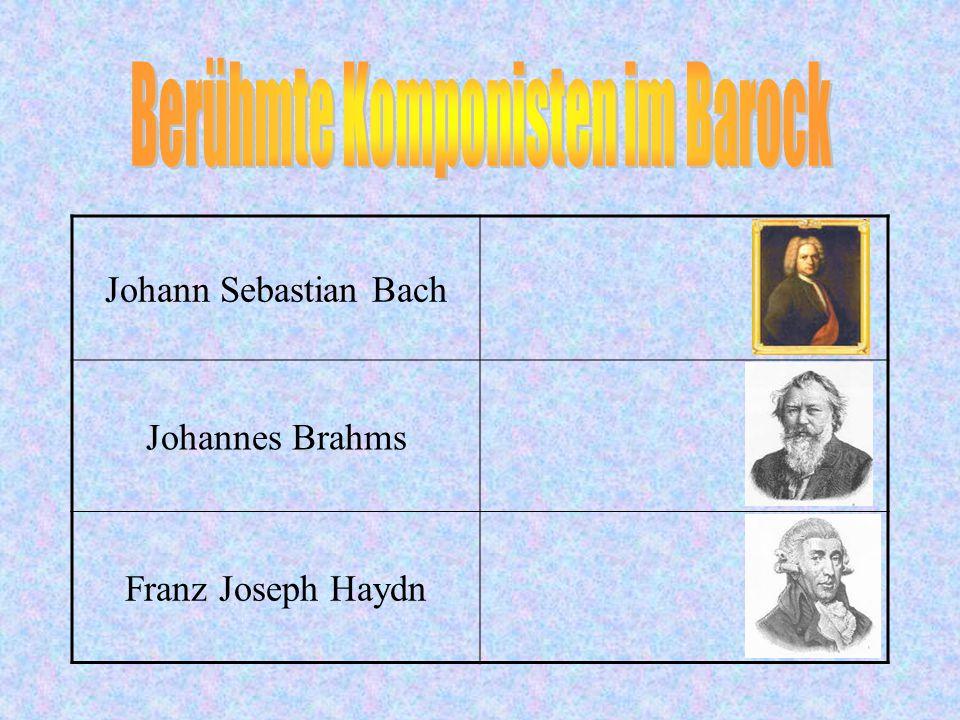 (1685) Ich bin in Eisenach geboren. (1695) Nach dem Tod meines Vaters kam ich zum älteren Bruder Johann Christoph nach Ohrdruf. (1700) Im Jahre 1700 g