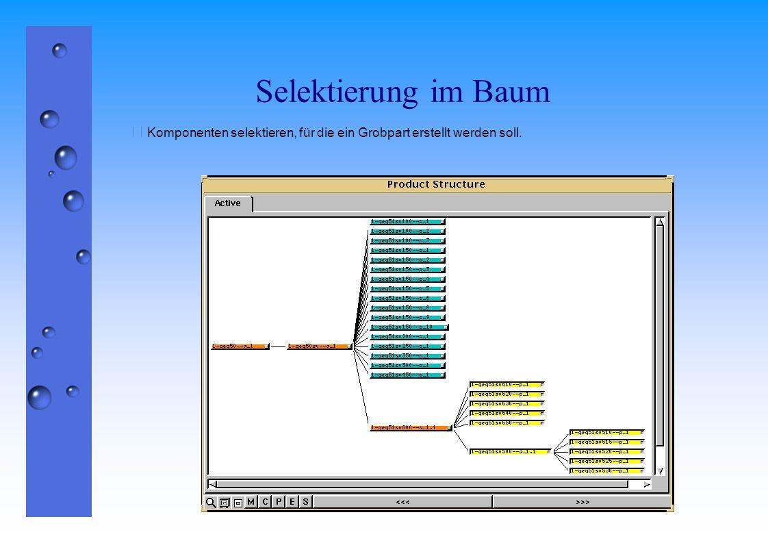 Abschneiden der Selektion  Mit Edit -> Cut werden die selektierten Komponenten ins Clipboard gestellt.