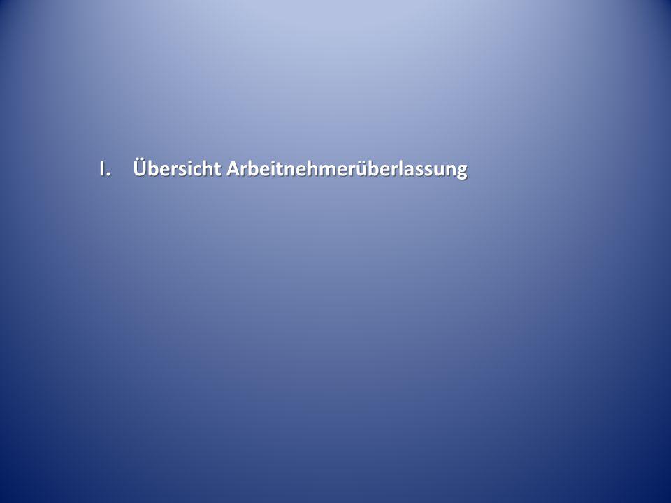 """Kein Zustimmungsverweigerungsgrund des Betriebsrats bei Dauerleihe (""""keine Verbotsnorm ) ArbG Leipzig Beschl."""