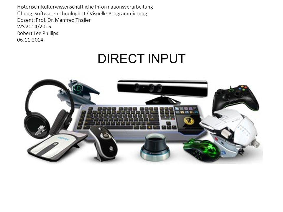 Historisch-Kulturwissenschaftliche Informationsverarbeitung Übung: Softwaretechnologie II / Visuelle Programmierung Dozent: Prof.