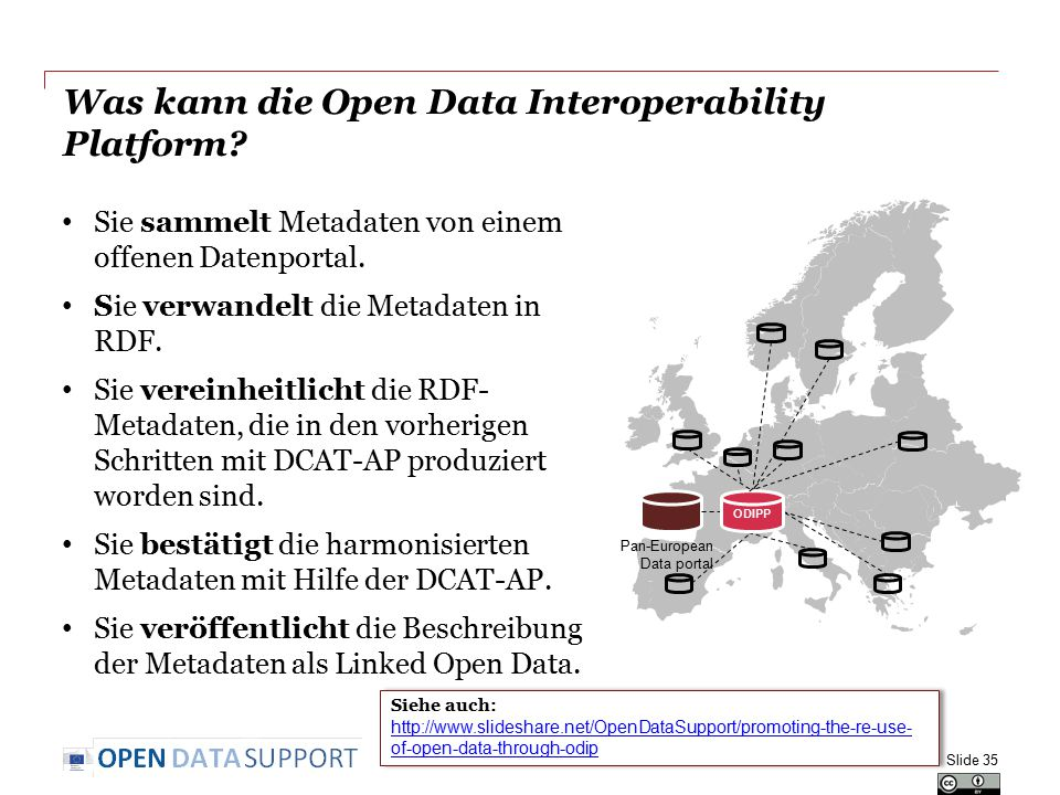 Was kann die Open Data Interoperability Platform.