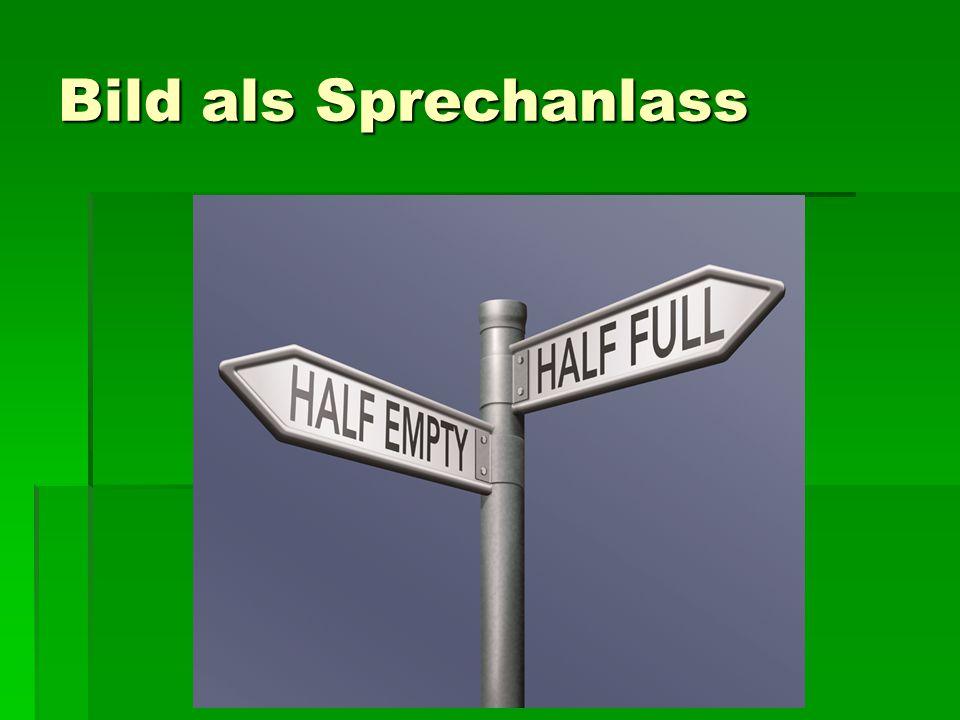 Bild als Sprechanlass