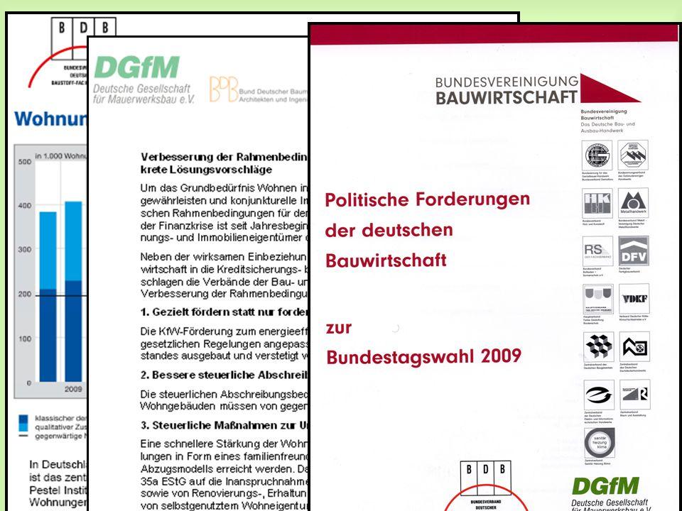 Wie geht es weiter? Kampagne pro Wohnungsbau 2009
