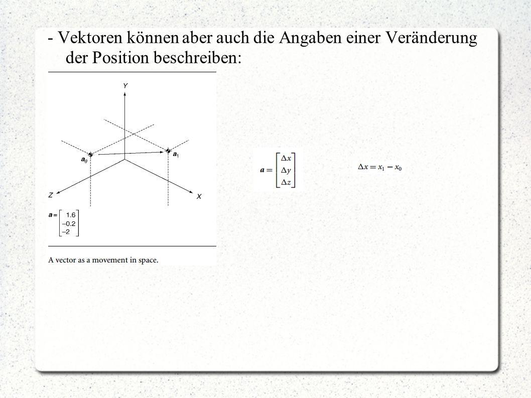 """""""Vector Differential Calculus - bei Vektoren sieht die Bestimmung ähnlich aus."""