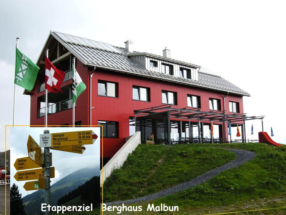 Etappenziel Berghaus Malbun