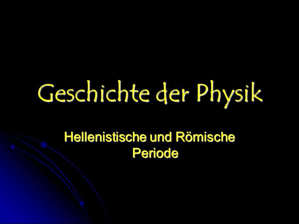 Diversifizierung der Physik Mechanik Mechanik Mechanik Astronomie Astronomie Akustik Akustik Optik Optik Elektrizität und Magnetismus Elektrizität und Magnetismus