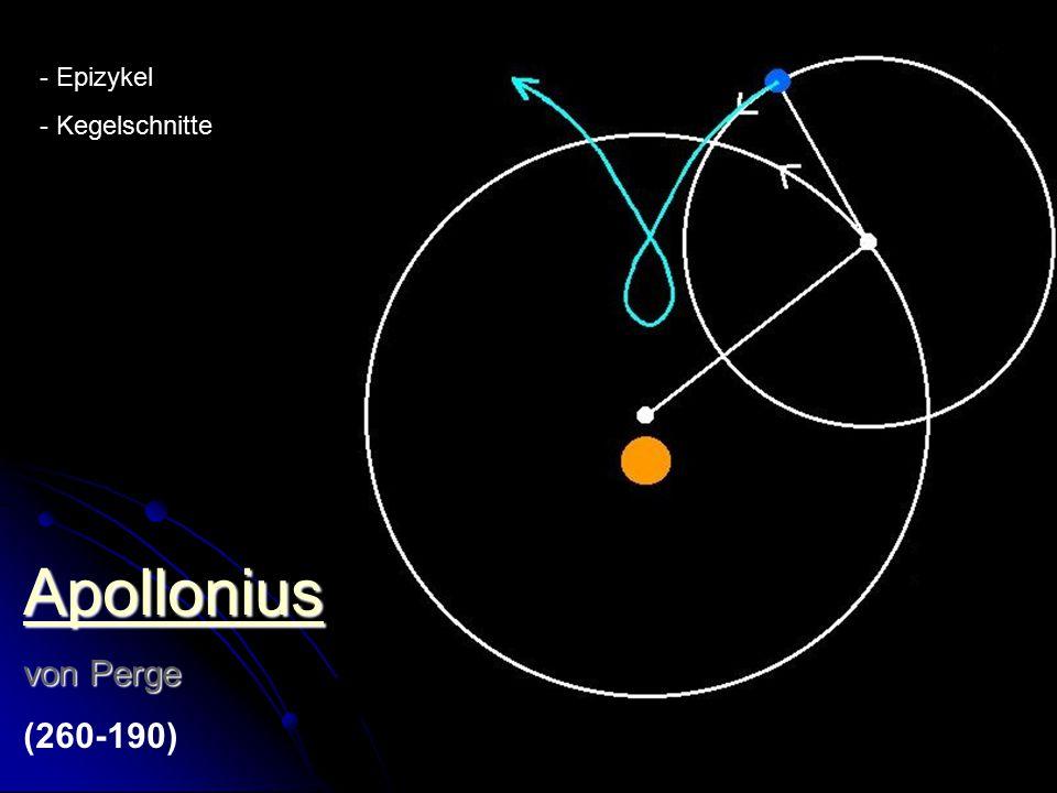 Hipparchus von Rhodos (190-120) - Trigonometrie - Jahr, Präzession - Sternenkatalog - Epizyklen oder Exzentrizität.
