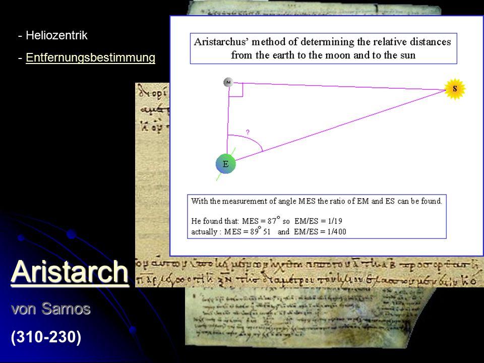 Eratosthenes von Kyrene (276-194 ) - ErddurchmesserErddurchmesser - Abstände - Sternenkatolog - Mathematik: PrimzahlsiebPrimzahlsieb