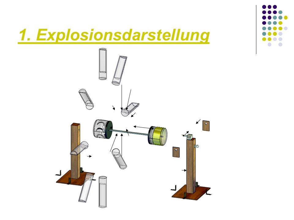 1. Explosionsdarstellung