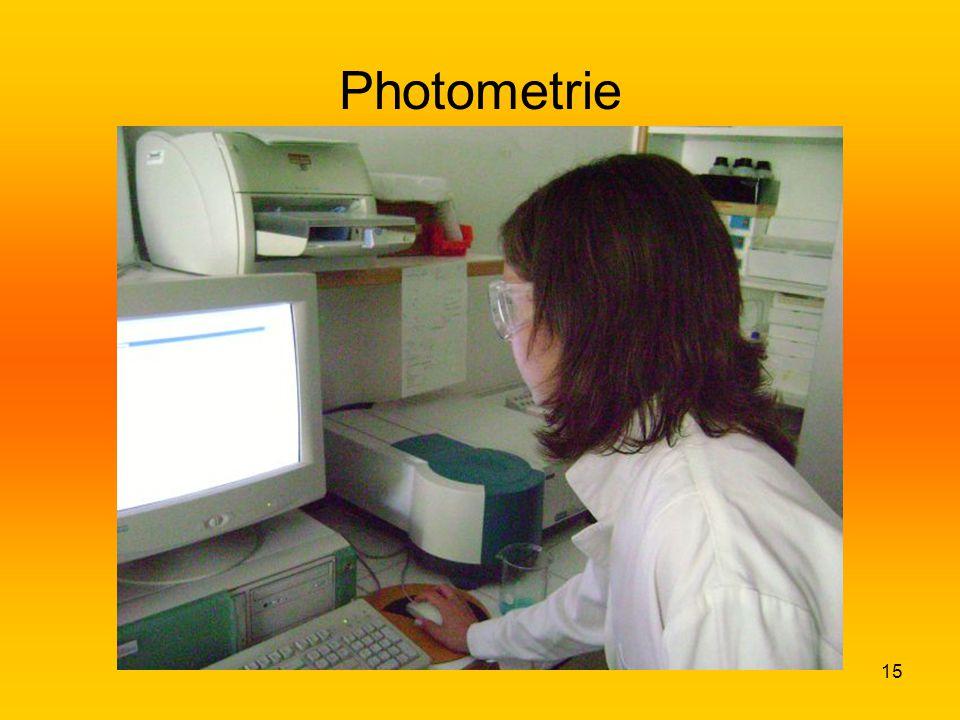 15 Photometrie