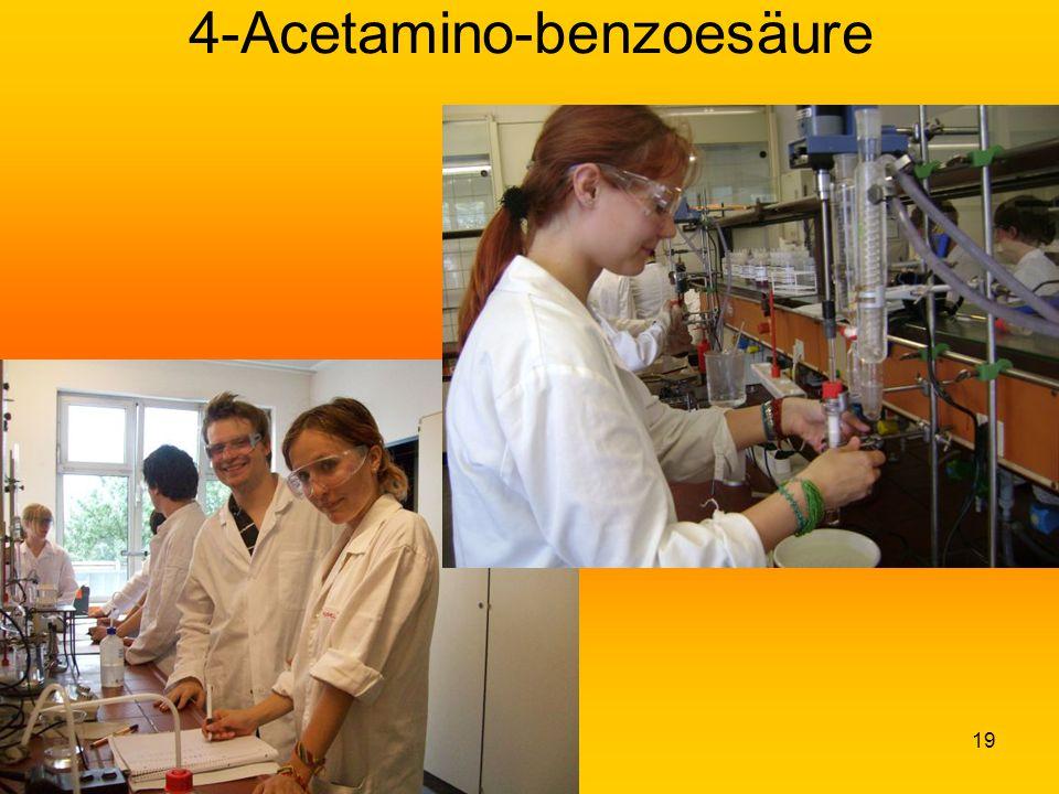 19 4-Acetamino-benzoesäure