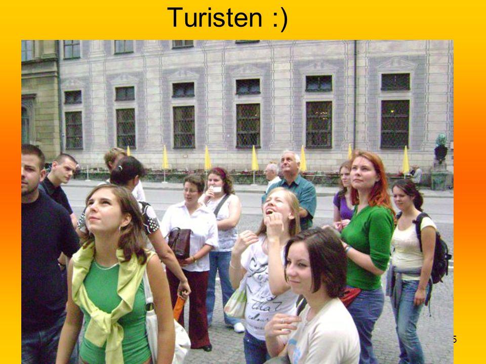35 Turisten :)