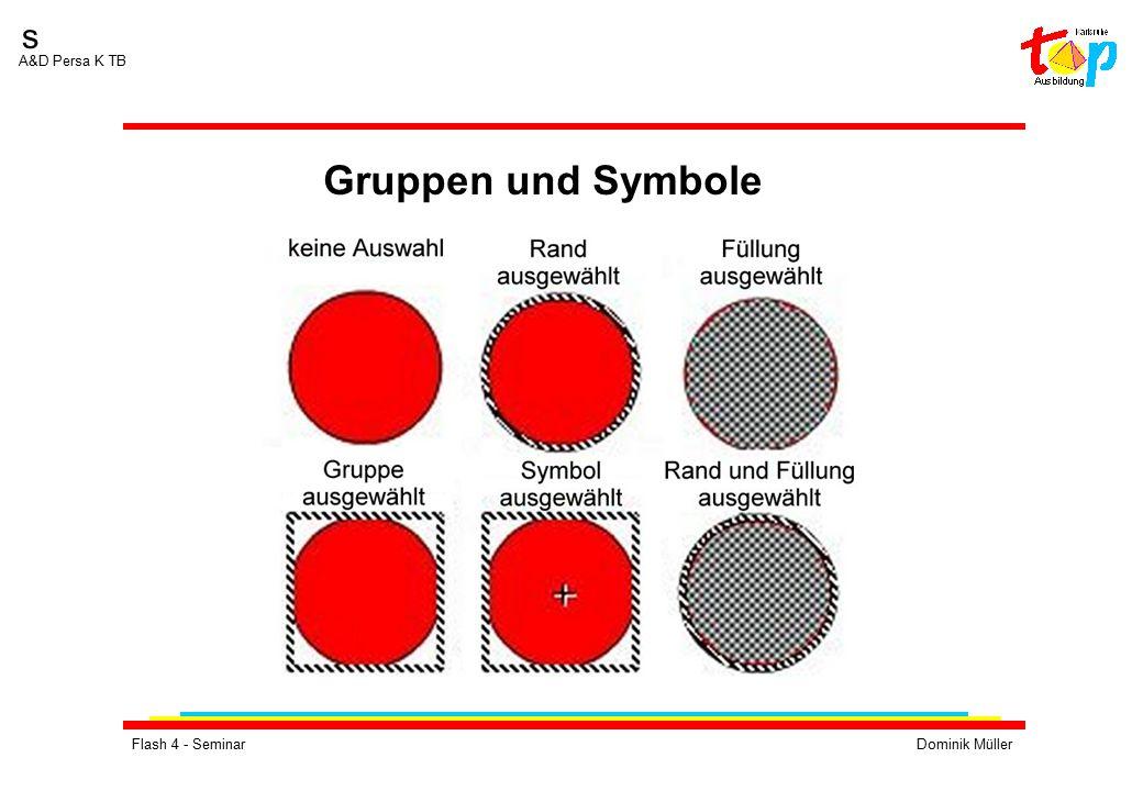 Flash 4 - SeminarDominik Müller s A&D Persa K TB Übung 2:  Erstellen Sie mehrere Ebenen.