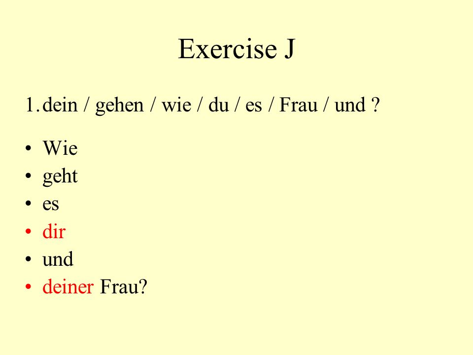 Exercise I 1.Ask a friend what s/he is doing after the movie 2.