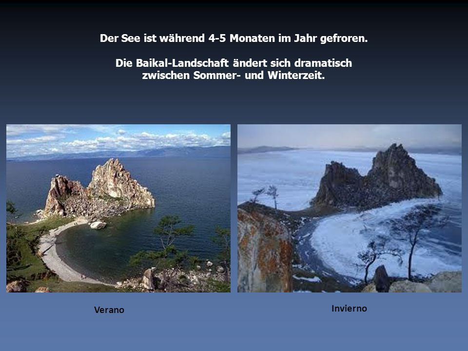 Der See ist während 4-5 Monaten im Jahr gefroren.